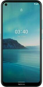 Nokia 3.4 Unlocked Android Smartphone with 3/64 GB Memory, Fjord Blue
