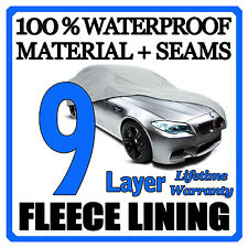 9 Layer Car Cover Breathable Waterproof Layers Outdoor Indoor Fleece Lining Fim