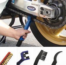 4 Pcs Chain Gear Cycle Brake Oil Dirt Rust Cleaning Brush Remover Tools Kawasaki