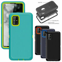 For Samsung Galaxy A51 A71 4G A10e A20 Case Defender Armor Hybrid Phone Cover