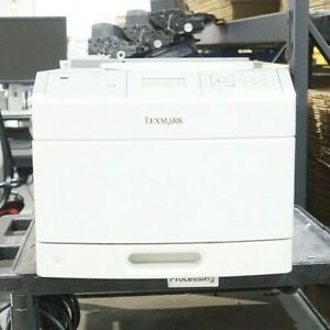 Lexmark T650N Workgroup Network Mono USB Laser Printer 174k+ TPC Low Toner