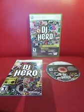 DJ Hero (Microsoft Xbox 360, 2009) Game only