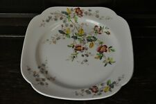 "Copeland Spode Lovely Vintage Square ""Thelma"" Side Plate 24cm by 24cm"