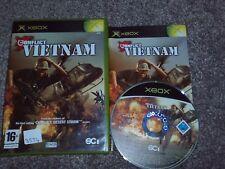 CONFLICT : VIETNAM  - Rare XBOX Game