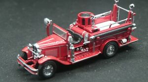 Matchbox Models of Yesteryear #YFE09 – 1:43 1932 Ford AA Open Cab Fire Engine