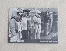 Space 1999 Series 3 Metallic Gold Dealer Promo Cards JW1 /& JW2