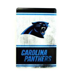 Carolina Panthers NFL Team Logo Tin Sign