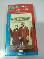 Sacco e Vanzetti Giuliano Montaldo - VHS Cinta Tape Español Nueva - 2T