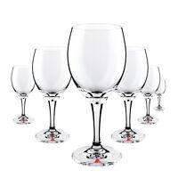 6 x Apollinaris Glas Gläser Wasser Trinkglas Kelch Gastro Bar Deko NEU
