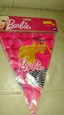 Banderole Plastique Neuve scellée / Poupée Barbie ,3M60 /Déco collection.