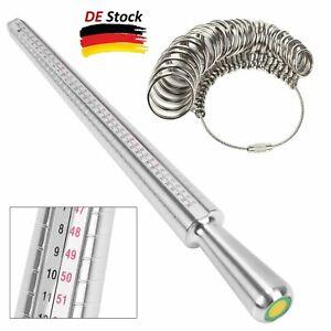 Ringgrössenmesser Ringstock Ringmaß Dorn Set Ring Messgerät Aus Ring Werkzeug DE