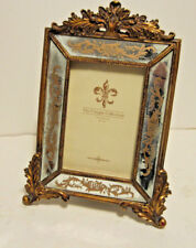 Florentine Antique Rust Gold Mirror 4x6 Photo Picture Frame