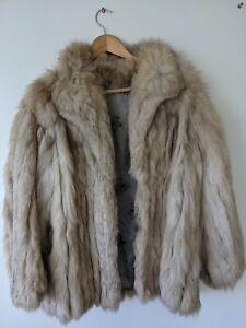 Real Fox Fur Coat
