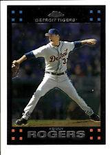 Kenny Rogers Detroit Tigers 2007 Topps Chrome Baseball Card #219 Mint