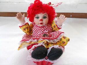 "Marie Osmond - Cherry Muffin Rag-A-Muffin, 5"" tall, NRFB w/COA, Free Shipping"