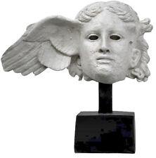 Hypnos Greek Roman God of Sleep Head Bust Museum Sculpture Replica Reproduction