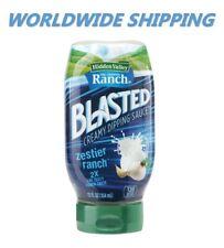 Hidden Valley Blasted Zestier Ranch Sauce 12 Fl Oz WORLDWIDE SHIPPING