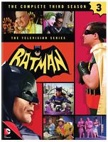 Batman: The Complete Third Season 3 (5-DVD Set) • NEW • Adam West TV Series