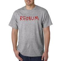 REDRUM T-Shirt - Overlook Hotel Horror Halloween Scary Tee Ghost Hunting
