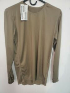 coyote brown SILK WEIGHT BASE LAYER US ARMY ECWCS GEN III LEVEL 1  large regular