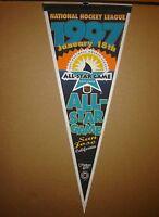 1997 NHL All Star Game San Jose Sharks Hockey Pennant