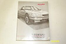 1987 ACURA LEGEND COUPE OEM FACTORY SERVICE MANUAL SHOP REPAIR