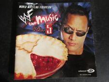 World Wrestling Federation - The Music, Vol. 5: 2001 Koch CD Album (Soundtrack)
