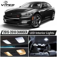 2015-2018 Dodge Charger White LED Interior Lights Kit Package