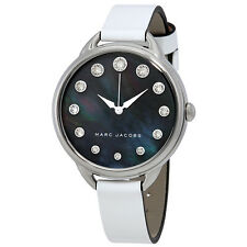 Marc Jacobs Betty Black Mother Of Pearl Dial Ladies Watch MJ1510