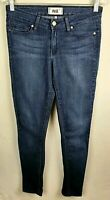 Women's Paige Peg Super Skinny Blue Mid Rise Stretchy Jeans Size 27