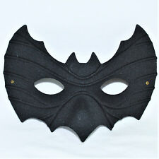 Black Bat Mask Halloween Fancy Dress Pipistrello Italian Masquerade Ball Costume