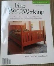 *Fine Woodworking Magazine (Taunton Press) April 2017 New Arts & Crafts bed