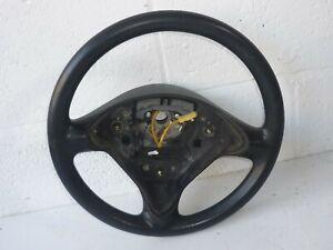 Genuine Seat Ibiza 6K Arosa Inca Black Steering Wheel 3-Spoke 6K0419091AA