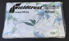 Vintage Fieldcrest Twin fitted sheet Floral Print New in Package