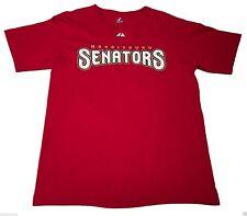 (M) Majestic Stephen Strasburg Harrisburg Senators Red Shirt Nationals Minors