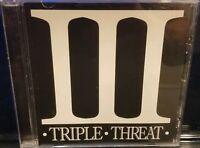 Triple Threat - Sampler CD Twiztid & Blaze Ya Dead Homie insane clown posse rare