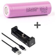 Samsung Li-ionen Batería Icr18650-26h-2600 mAh 3 6v Nitecore I1 ego cargador