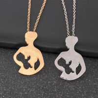 Women Charm Baby Mom Pendant Necklace Jewelry Special Mother Day Gift