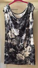 Dorothy Perkins Grey Tunic Dress Size 12