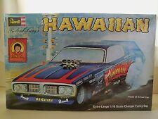 REVELL - ROLAND LEONG'S HAWAIIAN - DODGE CHARGER NHRA FUNNY CAR - 1/16 MODEL KIT