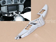 Chrome Batwing Dash Switch Panel Accent Cover For Harley Touring Glide 14-17 15