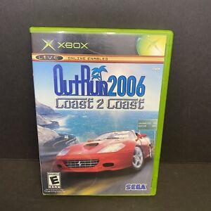 XBOX Original OutRun Out Run 2006 Coast 2 Coast - Complete + Tested + Nice
