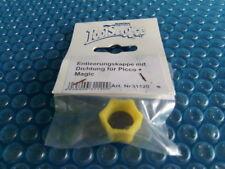 Entleerungskappe, gelb, mit Dichtung für Speck-Pumpe Picco und Magic