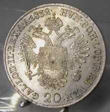 20 Kreuzer 1832 A, #2, Wien, Franz I., Silber