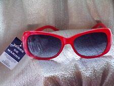 Lunettes de soleil / sunglasses TERRE DE MARINS rouge MIXTE NEUF ! NEUF & ETIQ