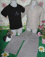vêtements occasion fille 6 ans,pantalon,tee-shirt,gilet/chemisier PETIT BATEAU
