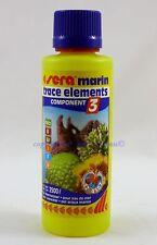 Sera marin Trace Elements 250ml Component 3 für Meerwasser 31,96€/L