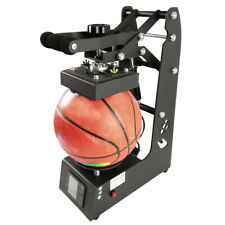 2in1 Ball Logo Heat Press Sublimation Football Rugby Printer Printing Machine US