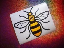 MANCHESTER BEE Car/Van/Laptop/Boat/Window/Bumper Vinyl Sticker/Decal