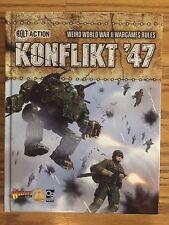 Bolt Action Konflikt '47 Rulebook Weird War II